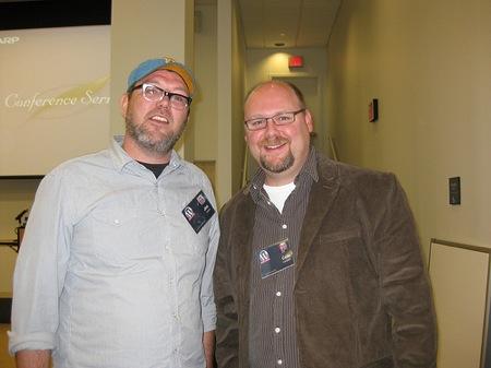It was great finally meeting Jim Groom.