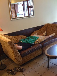 Starbucks Exhaustion